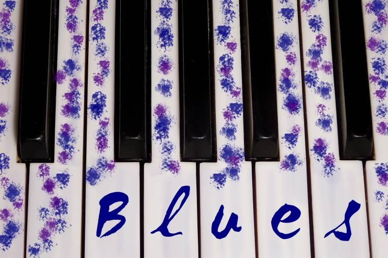 Blues am Klavier spielen mit Beispielsongs für Improvisation