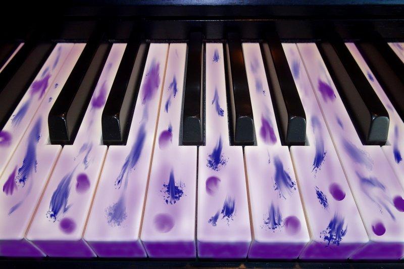 Bluespiano mit 8-Takt-Akkordschemata