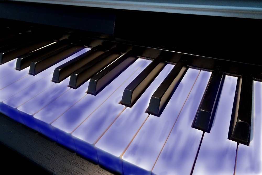 Blues lernen am Klavier