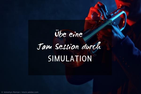 Musiksession simulieren: Zusammen jammen
