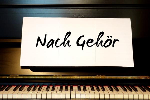 Ohne Notenlesen, nach Gehör Piano spielen.