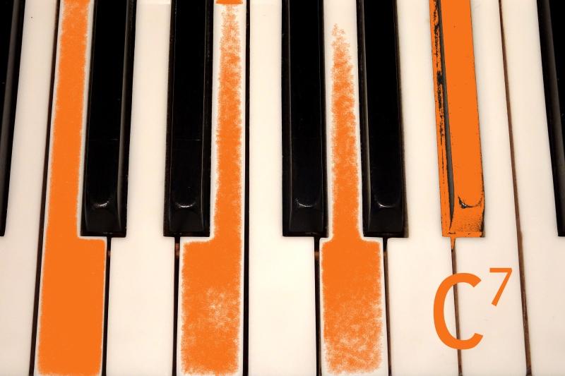Gesang am Klavier mit Akkorden begleiten statt nach Noten.