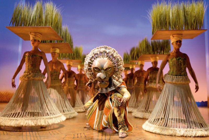 Hamburger Disney Musical König der Löwen für die ganze Familie: Grasland der Savanne
