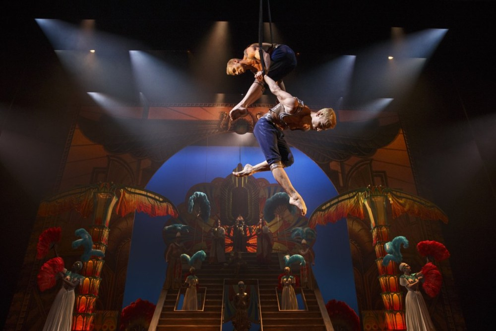 Review Musical Paramour Cirque du Soleil