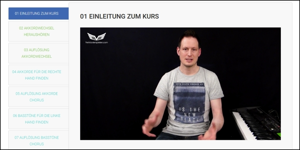 Erfahrungen Online Klavierunterricht: Pianoclub von Daniel Hunziker (Freiklavierspielen.com) im Test