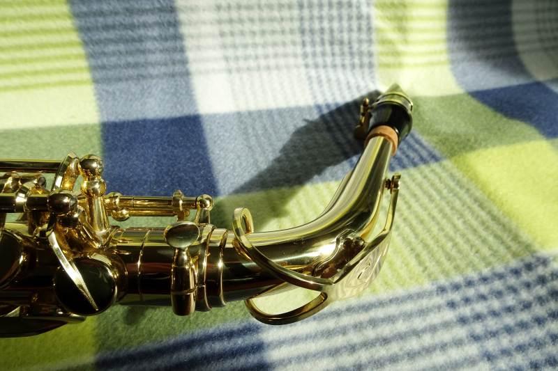 Tenor- oder Altsaxophon? - S-Bogen eines Altsaxophons