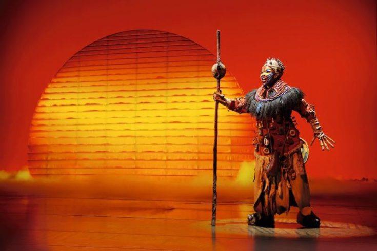 Erfahrungen Disneys Musical König der Löwen Hamburg: Rafiki
