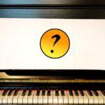 Klavier oder Keyboard ohne Noten spielen.