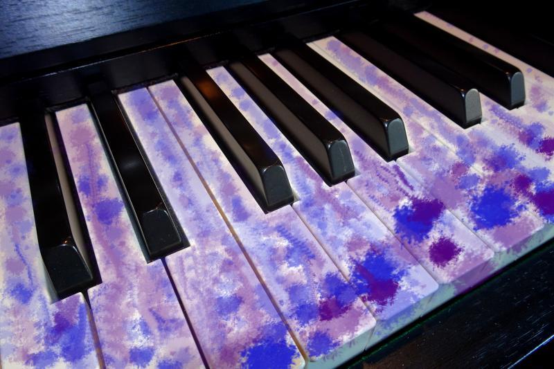 Bluesakkordfolgen am Klavier