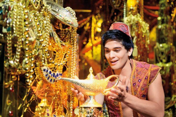 Aladdin und die Wunderlampe: Erfahrungen von Disneys Musical Aladdin