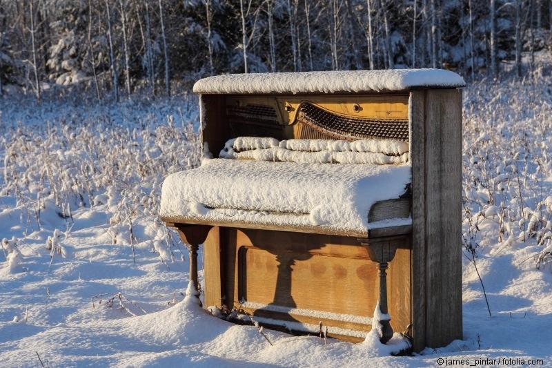 Ein Musikinstrument verlernen oder aus der Übung kommen kann frustrierend sein