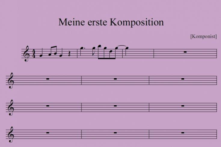 Anleitung zum Komponieren